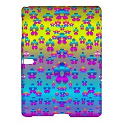 Flowers In The Most Beautiful Sunshine Samsung Galaxy Tab S (10 5 ) Hardshell Case  by pepitasart