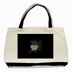 Bird Basic Tote Bag (two Sides) by ValentinaDesign
