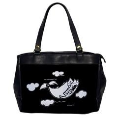 Bird Office Handbags by ValentinaDesign