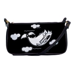 Bird Shoulder Clutch Bags by ValentinaDesign