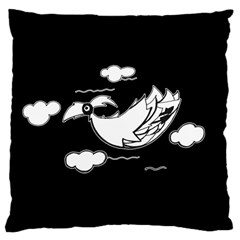 Bird Large Cushion Case (one Side) by ValentinaDesign