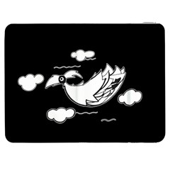 Bird Samsung Galaxy Tab 7  P1000 Flip Case by ValentinaDesign