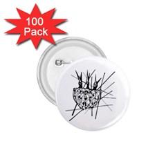 Bird 1 75  Buttons (100 Pack)  by ValentinaDesign