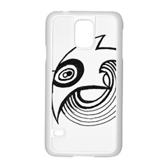 Bird Samsung Galaxy S5 Case (white) by ValentinaDesign