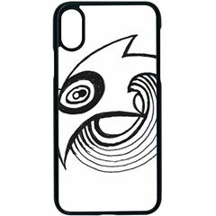 Bird Apple Iphone X Seamless Case (black)