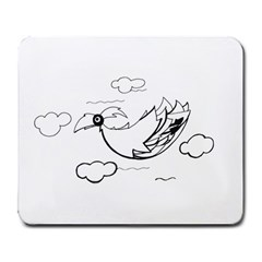 Bird Large Mousepads by ValentinaDesign