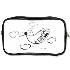 Bird Toiletries Bags 2 Side by ValentinaDesign