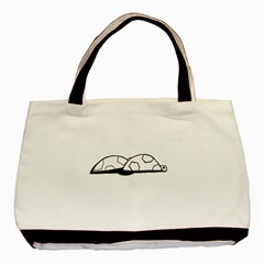 Turtle Basic Tote Bag (two Sides) by ValentinaDesign
