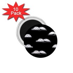 Turtle 1 75  Magnets (10 Pack)  by ValentinaDesign