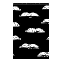 Turtle Shower Curtain 48  X 72  (small)  by ValentinaDesign