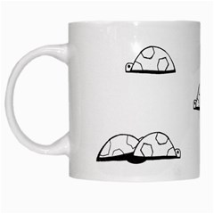 Turtle White Mugs by ValentinaDesign