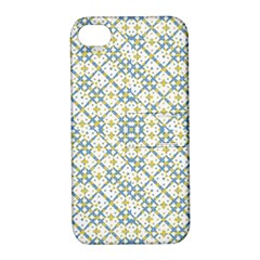 Vivid Check Geometric Pattern Apple Iphone 4/4s Hardshell Case With Stand by dflcprints