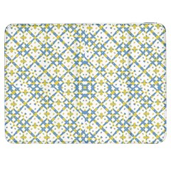 Vivid Check Geometric Pattern Samsung Galaxy Tab 7  P1000 Flip Case by dflcprints