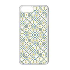 Vivid Check Geometric Pattern Apple Iphone 8 Plus Seamless Case (white) by dflcprints