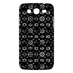 Dark Luxury Baroque Pattern Samsung Galaxy Mega 5 8 I9152 Hardshell Case  by dflcprints