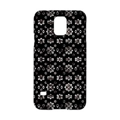 Dark Luxury Baroque Pattern Samsung Galaxy S5 Hardshell Case  by dflcprints