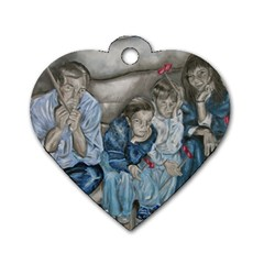 The Nobodies Dog Tag Heart (two Sides) by redmaidenart