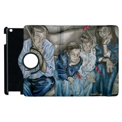The Nobodies Apple Ipad 3/4 Flip 360 Case by redmaidenart