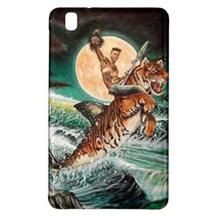 Tiger Shark Samsung Galaxy Tab Pro 8 4 Hardshell Case by redmaidenart