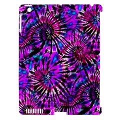 Purple Tie Dye Madness  Apple Ipad 3/4 Hardshell Case (compatible With Smart Cover) by KirstenStar