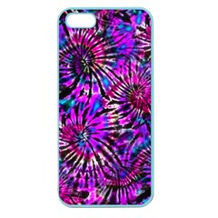 Purple Tie Dye Madness  Apple Seamless Iphone 5 Case (color) by KirstenStar