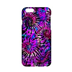 Purple Tie Dye Madness  Apple Iphone 6/6s Hardshell Case by KirstenStar