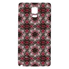 Oriental Ornate Pattern Galaxy Note 4 Back Case by dflcprints