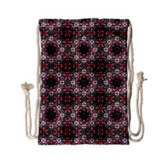 Oriental Ornate Pattern Drawstring Bag (small) by dflcprints