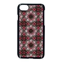 Oriental Ornate Pattern Apple Iphone 7 Seamless Case (black) by dflcprints