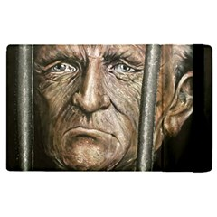 Old Man Imprisoned Apple Ipad Pro 9 7   Flip Case by redmaidenart