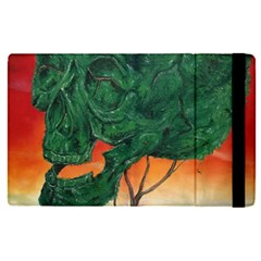 Skull Hedge Apple Ipad Pro 9 7   Flip Case by redmaidenart