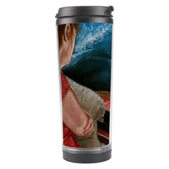 Breaking News Travel Tumbler by redmaidenart