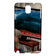 Breaking News Samsung Galaxy Note 3 N9005 Hardshell Case by redmaidenart