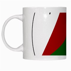 Afghan National Air Force Roundel White Mugs by abbeyz71