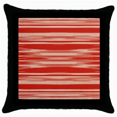 Abstract Linear Minimal Pattern Throw Pillow Case (black) by dflcprints