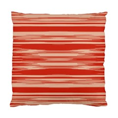 Abstract Linear Minimal Pattern Standard Cushion Case (two Sides) by dflcprints