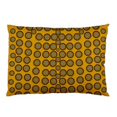 Stars And Wooden Flowers In Blooming Time Pillow Case (two Sides) by pepitasart