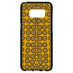 Stars And Wooden Flowers In Blooming Time Samsung Galaxy S8 Black Seamless Case by pepitasart