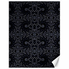 Dark Ethnic Sharp Pattern Canvas 18  X 24   by dflcprints