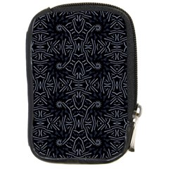 Dark Ethnic Sharp Pattern Compact Camera Cases by dflcprints