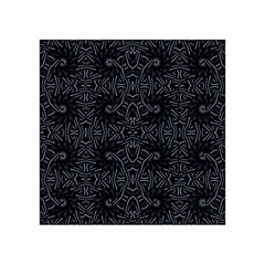 Dark Ethnic Sharp Pattern Acrylic Tangram Puzzle (4  X 4 ) by dflcprints