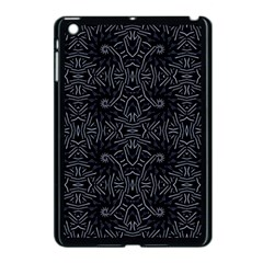 Dark Ethnic Sharp Pattern Apple Ipad Mini Case (black) by dflcprints