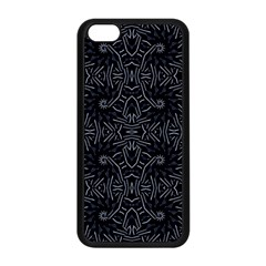 Dark Ethnic Sharp Pattern Apple Iphone 5c Seamless Case (black) by dflcprints