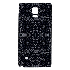 Dark Ethnic Sharp Pattern Galaxy Note 4 Back Case by dflcprints