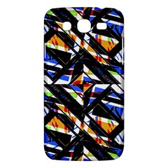 Multicolor Geometric Abstract Pattern Samsung Galaxy Mega 5 8 I9152 Hardshell Case  by dflcprints