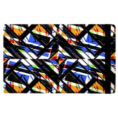 Multicolor Geometric Abstract Pattern Apple Ipad Pro 9 7   Flip Case by dflcprints