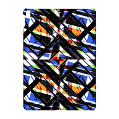 Multicolor Geometric Abstract Pattern Apple Ipad Pro 10 5   Hardshell Case by dflcprints