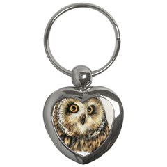Owl Gifts Key Chain (heart) by ArtByThree
