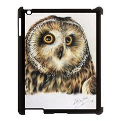 Owl Gifts Apple Ipad 3/4 Case (black) by ArtByThree