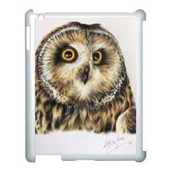 Owl Gifts Apple Ipad 3/4 Case (white) by ArtByThree